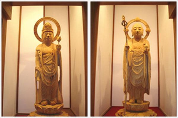聖観世音菩薩像・地蔵菩薩像
